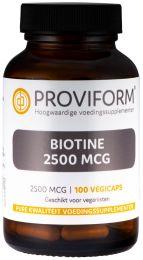 Biotine 2500 mcg - 100 Vegicaps