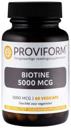 Biotine 5000 mcg - 60 Vegicaps