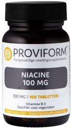 Niacine (Vitamine B-3) 100 mg - 100 Tabletten