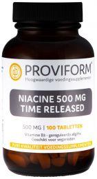 Niacine 500 mg Time Released - 100 Tabletten