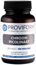 Chroom Picolinaat 200 mcg - 100 Vegicaps