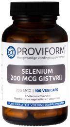 Selenium 200 mcg Gistvrij - 100 Vegicaps