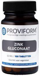 Zink Gluconaat 50 mg - 100 Tabletten