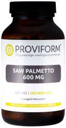 Saw Palmetto 600 mg - 100 Vegicaps