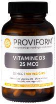 Natuurlijke vitamine D3 - 25 mcg