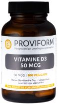Natuurlijke vitamine D3 - 50 mcg