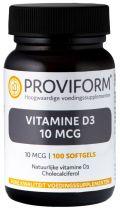Vitamine D3 - 10 mcg