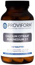 Calcium Citraat & Magnesium 2:1 & D3